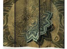 Paraván - Golden Treasure II [Room Dividers]